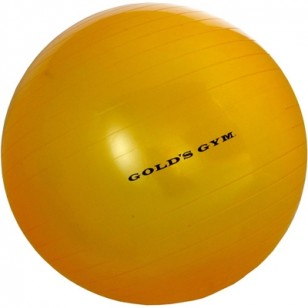 Gold's Gym 55cm Fitness Ball - Gold