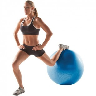 Gold's Gym 75cm Fitness Ball - Blue