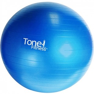 Tone Fitness 65cm Anti-burst Stability Ball - Blue