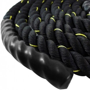 "Battle Rope 1.5"" - Black/Yellow"