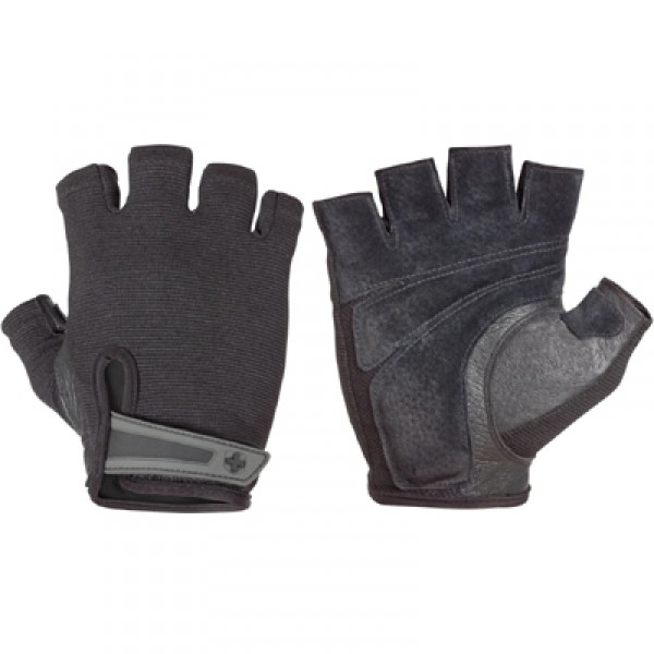 Harbinger Men's Power StretchBack Gloves - Black