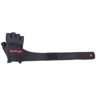 Harbinger Pro Wrist Wrap Glove - Black