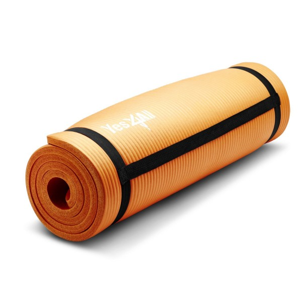 "Yes4All Premium 1/2"" Extra Thick High Density Exercise Yoga Mat"