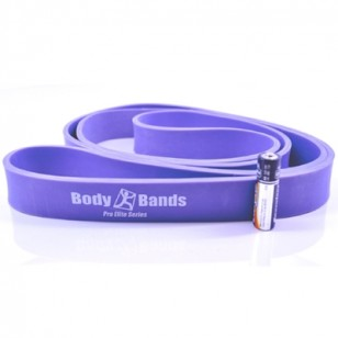 "Pro Elite 1 1/8"" Wide Loop Resistance Band - Purple"