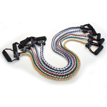 SPRI Xertube Braided Resistance Band Exercise Cords