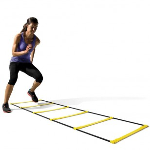 SKLZ Quick Flat Agility Speed Ladder with Carry Bag