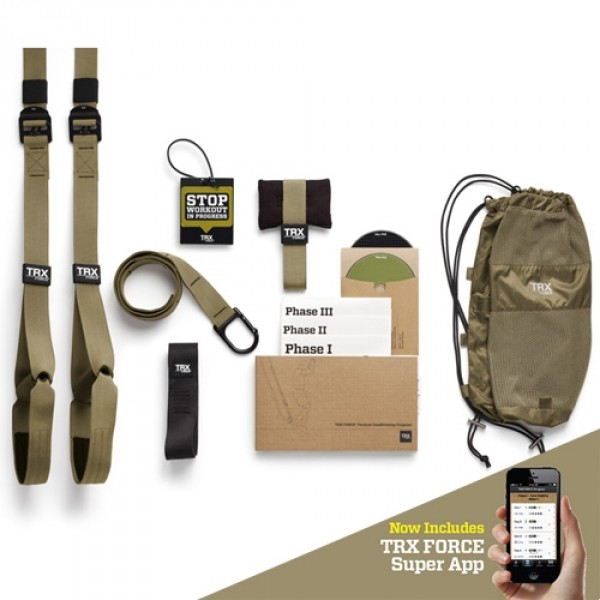 TRX Force Kit : Tactical + TRX Super App